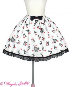 Letter Doll Skirt