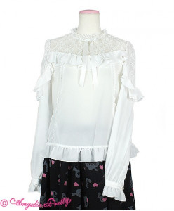 Lacy Frill Blouse
