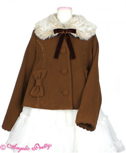 Romance Ribbon Short Coat