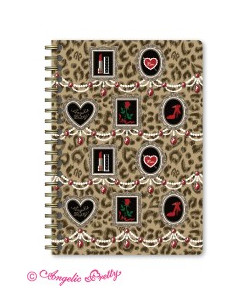 Girly Leopard Note