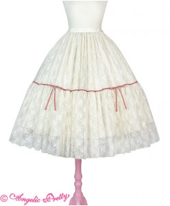 Romantic Lacy Doll Skirt