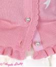 Twin Ribbon Knit Cardigan