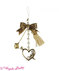 Paris Exclusive Logo Heart Arrow Strap
