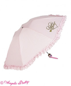 Lovely Heart Logo Folding Umbrella