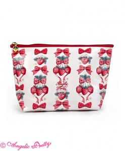 Strawberry Doll Pouch