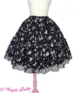 Girl's Heart Skirt