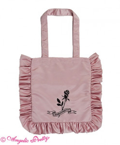Girl's Rose Tote Bag