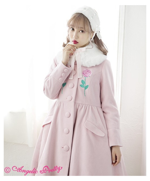 Rose Embroidery Coat