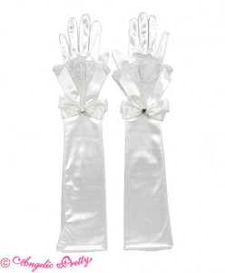 Brilliant Jewel Long Gloves