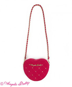 Velours Heart Pochette