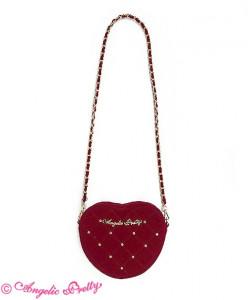 Velours Heart Pochette