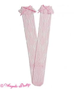 Sweetie Ribbon Overknees