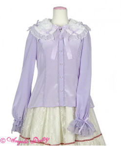 Airy Frill Blouse
