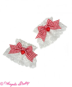 Lovely Gingham Wristcuffs