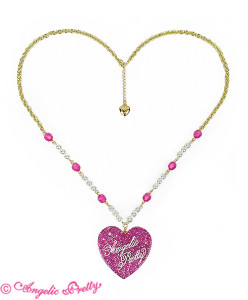 Deco Heart Necklace
