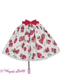 [RESERVATION] Royal Crown Berry Skirt