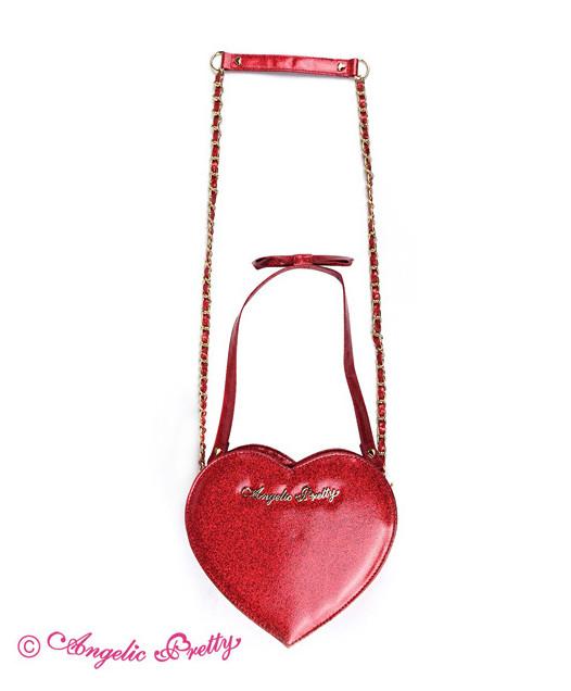 [Reservation] Glitter Love Heart Logo Pochette