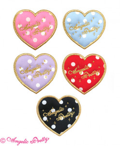 [RESERVATION] Love Heart Dot Clip
