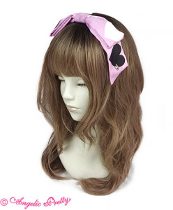 [Reservation] Dolly Heart Headbow