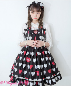 [Reservation] Dolly Heart Jumperskirt