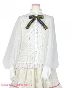 [Reservation] Twinkle Logo Ribbon Blouse