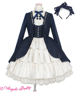 [Reservation] Classic Party Onepiece Set