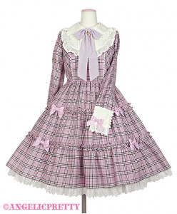 [Reservation] Cute Candy Check Onepiece