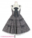 [Reservation] Cute Candy Check Jumperskirt