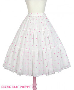 [Reservation] Petit Heart Skirt