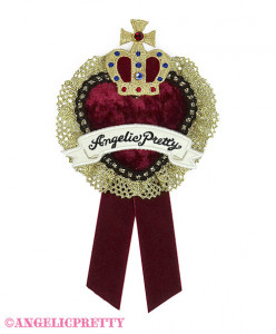 [Reservation] Noble Heart Clip Brooch