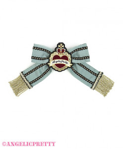[Reservation] Noble Ribbon Clip Brooch