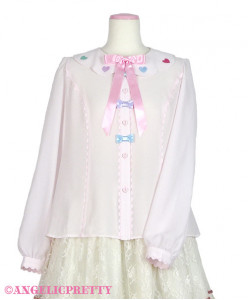[Reservation] Girly Sticker Blouse