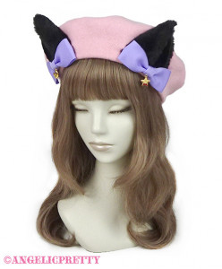 [Reservation] Halloween Cat Girl Beret