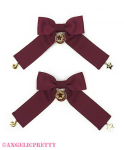 [Reservation] Moon Ribbon Clips