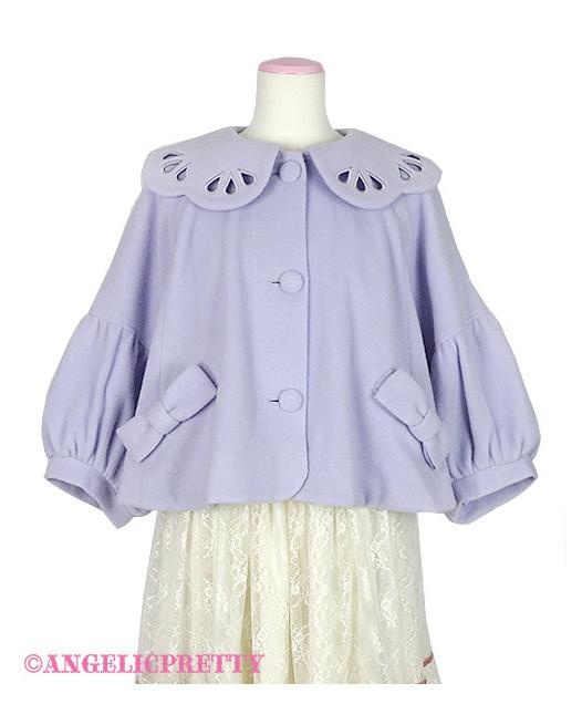 [Reservation] Scallop Collar Short Coat
