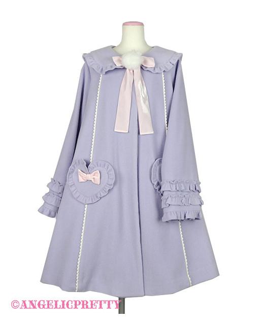 Frill Heart Bunny Coat