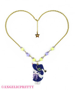 [Reservation] Little Witch Lyrical Bunny Necklace