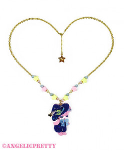 [Reservation] Little Witch Hanikami Bear Necklace