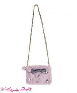 Fantasic Crystal Fur Pouch