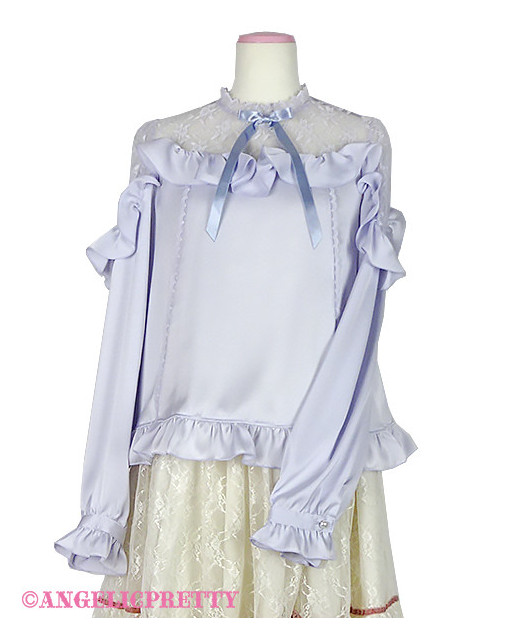 [Reservation] Lacy Frill Blouse
