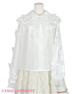 [reservation] Lovely Crepe de Chine Blouse