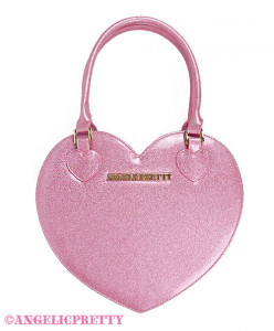 [Reservation] Glitter Love Heart Tote Bag