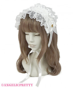 [Reservation] Lace Heart Charm Rose Headdress