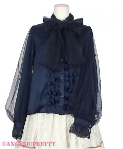 [Reservation] Nebula Ribbon Blouse