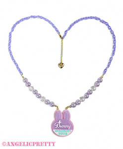 [Reservation] Bunny Tag Necklace
