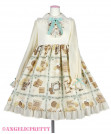 [Reservation] Cream Cookie Collection Cutsew Onepiece