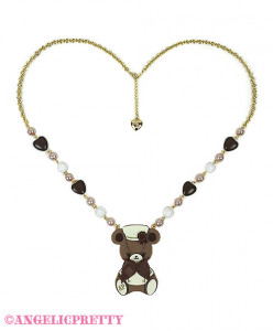 [Reservation] Bear's Chocolaterie Chocolatier Necklace