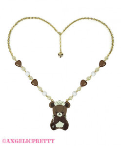 [Reservation] Bear's Chocolaterie Cafe Necklace