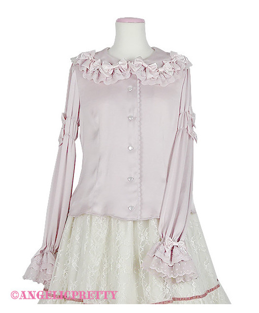 [Reservation] Trio Ribbon Blouse