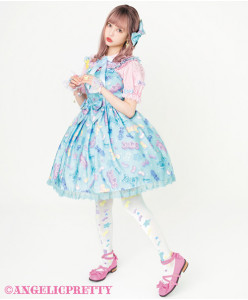 [Reservation] Jelly Candy Toys Jumperskirt Set